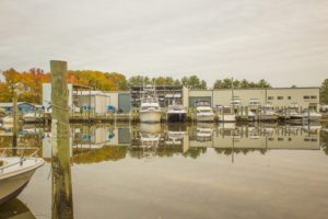 shelter cove dock long view